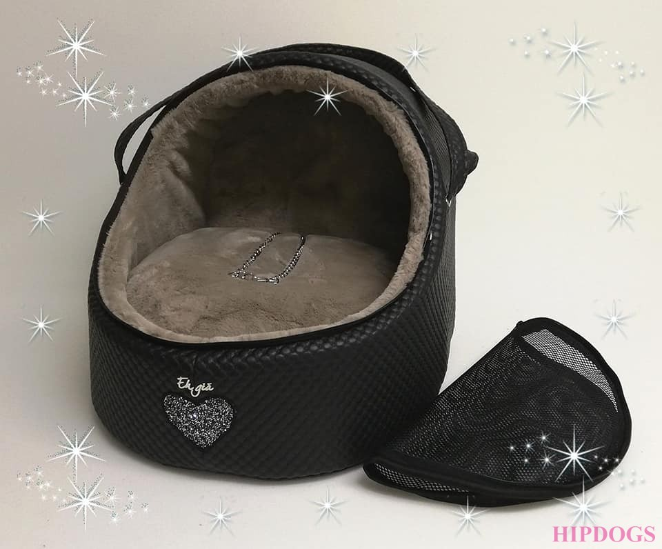 Eh Gia Car igloo J.black+heart+taupe  Size 2 www.hipdogs.nl