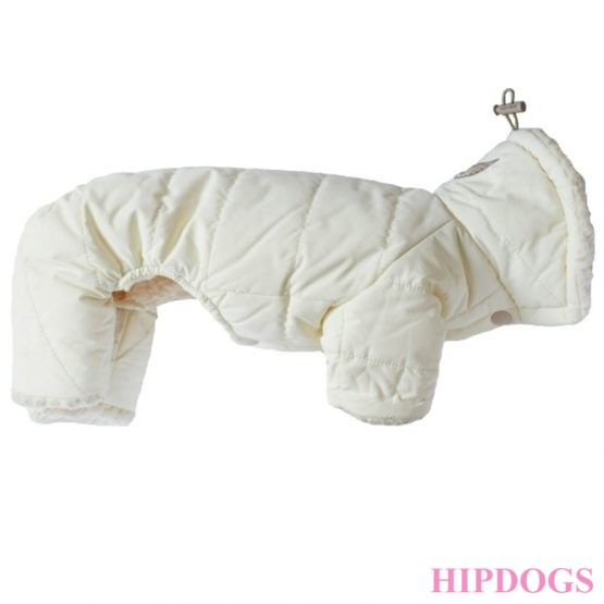 Puppy Angel Milky padded overall beige Small