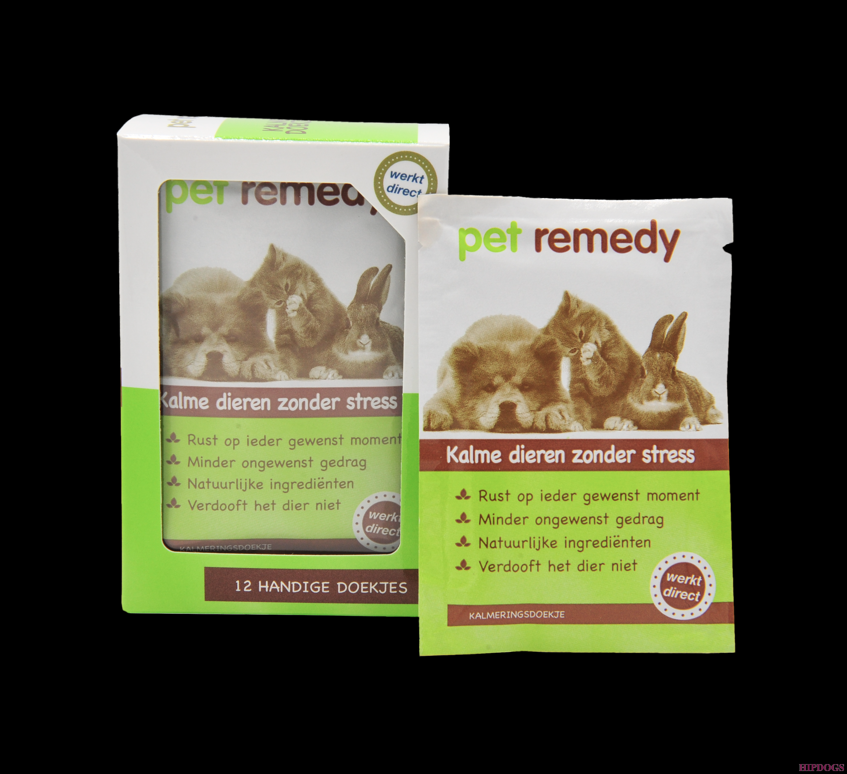 Pet Remedy Kalmerende Doekjes 12X