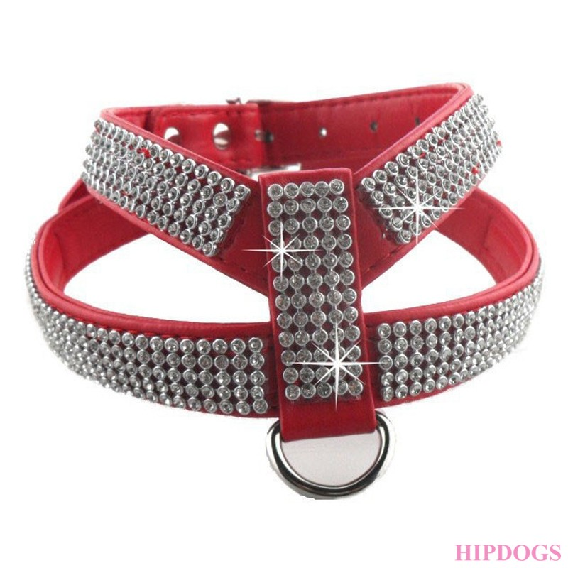 Tuigje rood strass