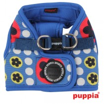 Puppia blossom harness B, royal blue