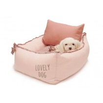 Puppy Angel(R) ALAKKE(TM) Heart Flower Frill Bed