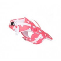 Puppy Angel Tough Heart Life Jacket, Pink