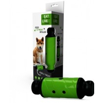Eat Slow Live Longer Feed & Treat Roller Green