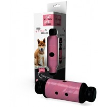 Eat Slow Live Longer Feed & Treat Roller Pink