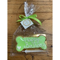 Dolcimpronte - Green Birthday Bone