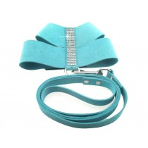 Harnas soft suède crystal  turquoise