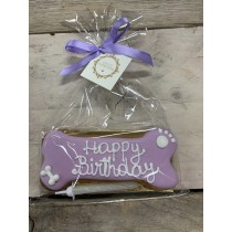 Dolcimpronte - Lilac Birthday Bone