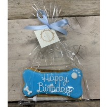 Dolcimpronte - Blue Birthday Bone