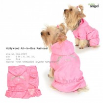 Puppy Angel Hollywood All-in-One Rainsuit pink LAATSTE