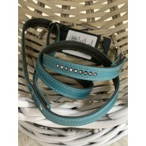 Jack and vanilla riem met strass Turquoise