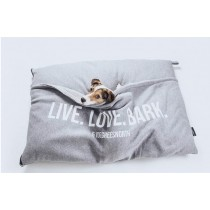 51 DN Sweater pillowbag 'LIVE LOVE BARK'