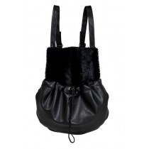 Jack and Vanilla Jackie Kangaroo Bag black