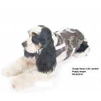 Puppy Angel Tough Heart Life Jacket, Camo