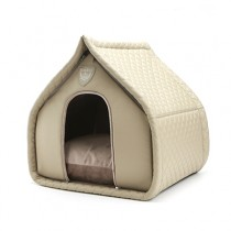 Puppy Angel Luxury Quiltted House beige