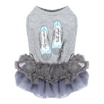 Lovely Princess Dress Gray