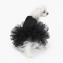 Puppy Angel TuTu dress Black
