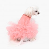 Puppy Angel TuTu dress Pink.