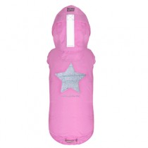 Multi Protect regenjas pink star
