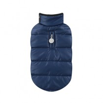 Puppy Angel Quillted Padded Vest(Ultra Light, Regular Length, Snap) navy