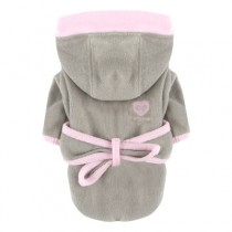 Puppy Angel Bathrobe Pink