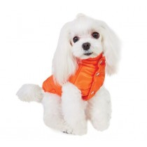 Puppy Angel Super Light Dog Winter Padding Vest orange