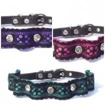 Halsband Lace met Strass
