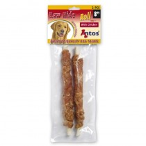 Antos-  raw hide roll with chicken 2 stuks 21 cm