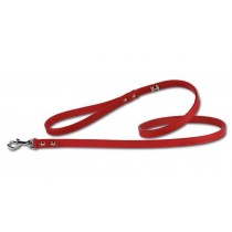 Leiband Pettarazzi Artleather silverbones Red