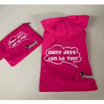 "Regenjas ""Rainy Days"" Roze"
