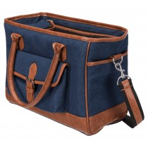 Hondentas Orphina jeanslook www.hipdogs.nl
