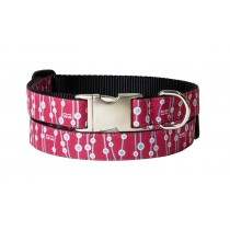 Halsband + Leiband Towsend roze