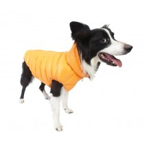 Puppy Angel Love Faux Down Padding Vest (Regular, Snap) orange maat 4XL t/m 7XL