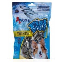 Antos Fish D'Light Twists - gedroogde snacks - Vis 100 gr