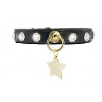 Funkylicious Crystals Black halsband