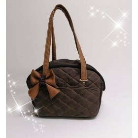 Eh Gia Matelassè Summer Life bag Choco+bow