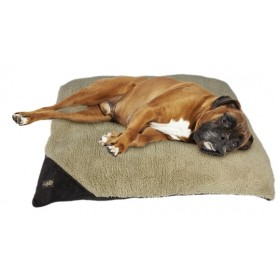 AFP Lambswool-Classic Pillow Bed Bruin