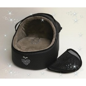 Eh Gia Car igloo J.black+heart+taupe  Size 2