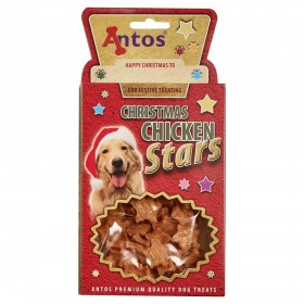 Antos Christmas chicken stars