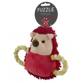 Fuzzle Hedgie Pull Me red