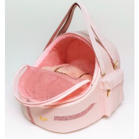 Eh Gia pocket car igloo Pink size 1