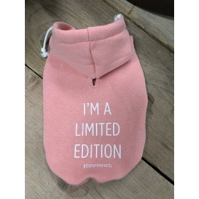 "51 DN sweater ""i`m a limited edition"" roze"