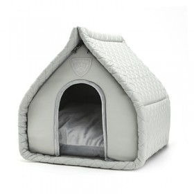 Puppy Angel Luxury Quiltted House gray