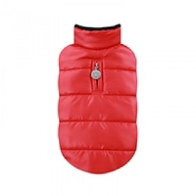 Puppy Angel Quillted Padded Vest(Ultra Light, Regular Length, Snap) red.