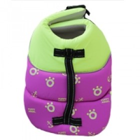 Puppy Angel Dog Life Vest purple Small