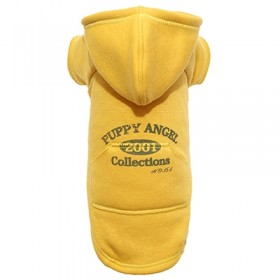 Puppy Angel Original Vintage Hoodie yellow