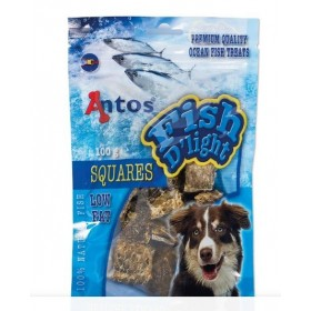 Antos FishD'light Squares gedroogde vis 100 gr