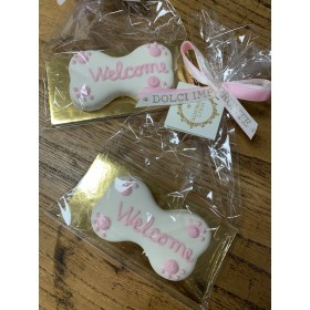Dolcimpronte - Welcome cookie pink