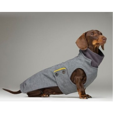 tQel waterproof coat Zermatt Grey