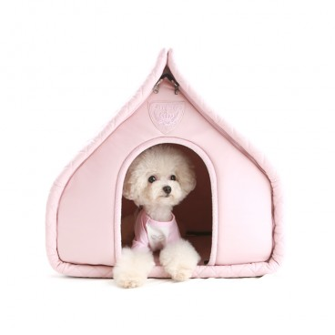 Puppy Angel Luxury Quiltted House pink
